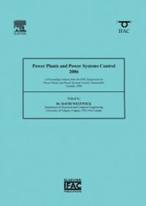 Ebook in inglese Power Plants and Power Systems Control 2006