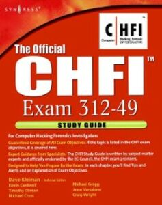 Ebook in inglese Official CHFI Study Guide (Exam 312-49) Kleiman, Dave