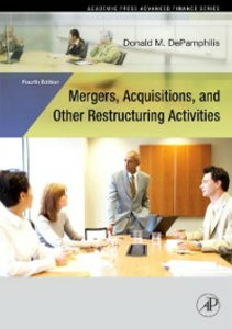Ebook in inglese Mergers, Acquisitions, and Other Restructuring Activities, 4E DePamphilis, Donald