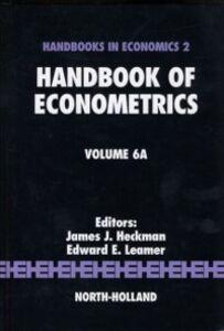 Foto Cover di Handbook of Econometrics, Ebook inglese di  edito da Elsevier Science