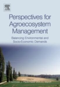 Ebook in inglese Perspectives for Agroecosystem Management: -, -