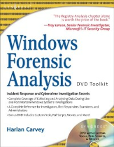 Ebook in inglese Windows Forensic Analysis DVD Toolkit Carvey, Harlan