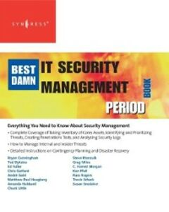 Foto Cover di Best Damn IT Security Management Book Period, Ebook inglese di Robert McCrie,Susan Snedaker, edito da Elsevier Science