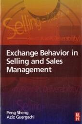 Exchange Behavior in Selling and Sales Management
