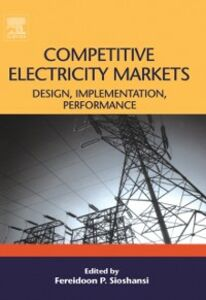 Foto Cover di Competitive Electricity Markets, Ebook inglese di  edito da Elsevier Science