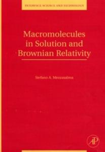 Ebook in inglese Macromolecules in Solution and Brownian Relativity Mezzasalma, Stefano Antonio
