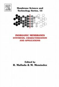 Ebook in inglese Inorganic Membranes: Synthesis, Characterization and Applications