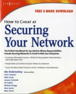 Ebook in inglese How to Cheat at Securing Your Network Dubrawsky, Ido