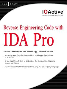 Ebook in inglese Reverse Engineering Code with IDA Pro IOActive