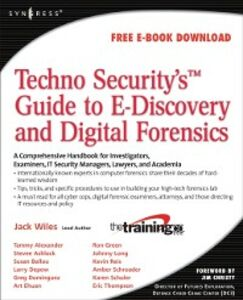 Ebook in inglese TechnoSecurity's Guide to E-Discovery and Digital Forensics