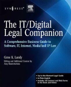 Ebook in inglese IT / Digital Legal Companion Landy, Gene K. , Mastrobattista, Amy J.