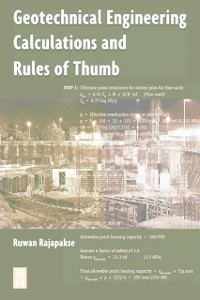 Ebook in inglese Geotechnical Engineering Calculations and Rules of Thumb Rajapakse, Ruwan Abey