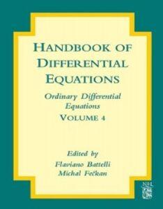 Ebook in inglese Handbook of Differential Equations: Ordinary Differential Equations -, -