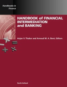 Ebook in inglese Handbook of Financial Intermediation and Banking -, -