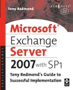 Ebook in inglese Microsoft Exchange Server 2007 with SP1 Redmond, Tony