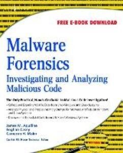 Foto Cover di Malware Forensics, Ebook inglese di AA.VV edito da Elsevier Science