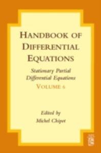 Foto Cover di Handbook of Differential Equations: Stationary Partial Differential Equations, Ebook inglese di  edito da Elsevier Science
