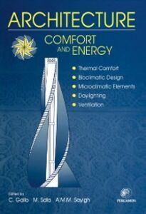 Foto Cover di Architecture - Comfort and Energy, Ebook inglese di  edito da Elsevier Science