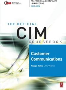 Ebook in inglese CIM Coursebook 07/08 Customer Communications Jones, Maggie