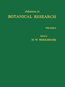 Ebook in inglese ADVANCES IN BOTANICAL RESEARCH APL -, -