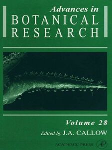 Foto Cover di Advances in Botanical Research, Ebook inglese di  edito da Elsevier Science
