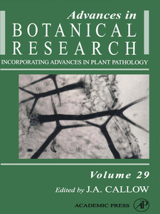 Ebook in inglese Advances in Botanical Research -, -