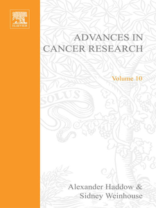 Ebook in inglese ADVANCES IN CANCER RESEARCH, VOLUME 10 -, -