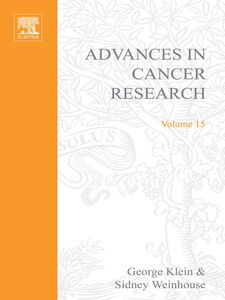 Ebook in inglese ADVANCES IN CANCER RESEARCH, VOLUME 15