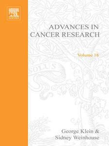 Ebook in inglese ADVANCES IN CANCER RESEARCH, VOLUME 18
