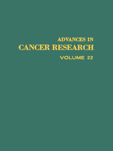 Foto Cover di ADVANCES IN CANCER RESEARCH, VOLUME 22, Ebook inglese di  edito da Elsevier Science