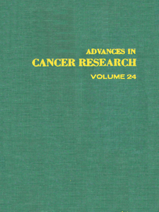 Ebook in inglese ADVANCES IN CANCER RESEARCH, VOLUME 24 -, -