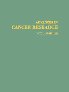 Ebook in inglese ADVANCES IN CANCER RESEARCH, VOLUME 25