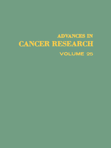 Ebook in inglese ADVANCES IN CANCER RESEARCH, VOLUME 25 -, -
