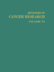 Ebook in inglese ADVANCES IN CANCER RESEARCH, VOLUME 29 -, -