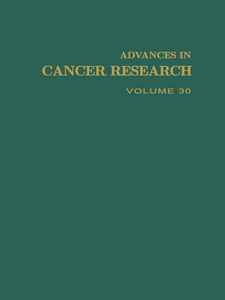 Ebook in inglese ADVANCES IN CANCER RESEARCH, VOLUME 30 -, -