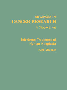 Ebook in inglese ADVANCES IN CANCER RESEARCH, VOLUME 46