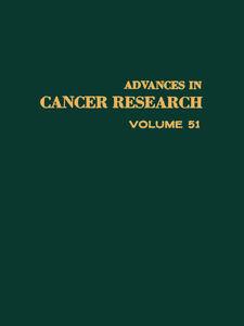 Foto Cover di ADVANCES IN CANCER RESEARCH, VOLUME 51, Ebook inglese di  edito da Elsevier Science
