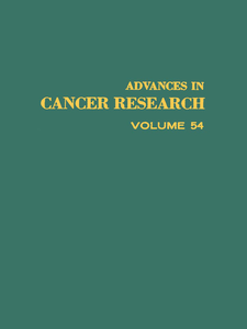 Ebook in inglese ADVANCES IN CANCER RESEARCH, VOLUME 54 -, -