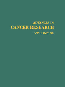 Foto Cover di ADVANCES IN CANCER RESEARCH, VOLUME 58, Ebook inglese di  edito da Elsevier Science
