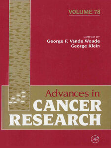 Ebook in inglese Advances in Cancer Research