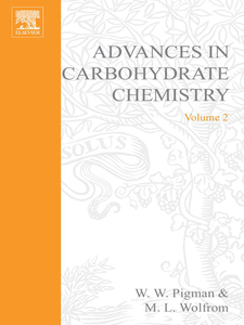 Ebook in inglese ADVANCES IN CARBOHYDRATE CHEMISTRY VOL 2 -, -