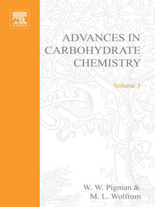 Ebook in inglese ADVANCES IN CARBOHYDRATE CHEMISTRY VOL 3 -, -
