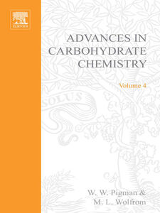 Ebook in inglese ADVANCES IN CARBOHYDRATE CHEMISTRY VOL 4 -, -