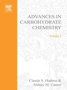 Ebook in inglese ADVANCES IN CARBOHYDRATE CHEMISTRY VOL 5