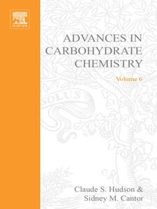 Ebook in inglese ADVANCES IN CARBOHYDRATE CHEMISTRY VOL 6