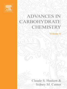 Ebook in inglese ADVANCES IN CARBOHYDRATE CHEMISTRY VOL 6 -, -