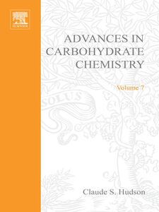 Ebook in inglese ADVANCES IN CARBOHYDRATE CHEMISTRY VOL 7 -, -