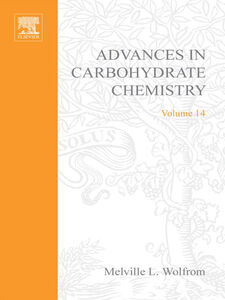 Ebook in inglese ADVANCES IN CARBOHYDRATE CHEMISTRY VOL14