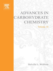 Ebook in inglese ADVANCES IN CARBOHYDRATE CHEMISTRY VOL16 -, -
