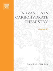 Ebook in inglese ADVANCES IN CARBOHYDRATE CHEMISTRY VOL17 -, -